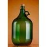 Demizson zöld 5l üveg palack