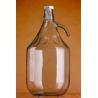 Demizson 5l csatos üveg palack