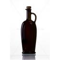 Soubreme fekete 0,5 literes üveg palack