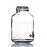 Fidó 5l csapos üveg palack