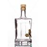 King quadra 0,5l csapos üveg palack