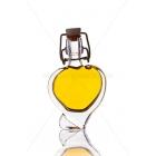Szív 0,04l csatos díszüveg