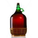 Demizson zöld műanyagalj 5 literes üveg palack