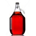 Demizson 5 literes csatos üveg palack