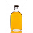 F200 0,2l lapos üveg palack