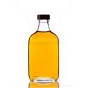 F200 0,2 literes lapos üveg palack
