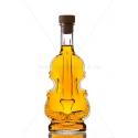 Hegedű 0,2 literes díszüveg üveg