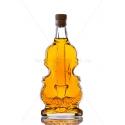 Hegedű 0,5 literes díszüveg palack