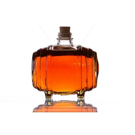 Hordó 0,5l üveg palack