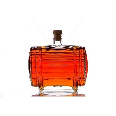 Hordó 1,5l üveg palack