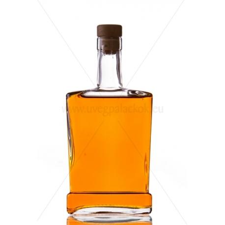 King piatta 0,5l üveg palack