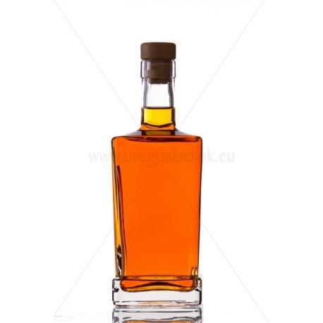 King quadra 0,5l üveg palack