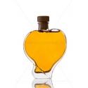 Szív 2 dl dísz üveg palack