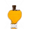 Szív 0,2l dísz üveg palack