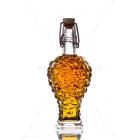 Szőllő 0,1l csatos díszüveg palack