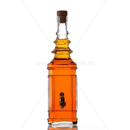 Katalano 0,75l csapos üveg palack