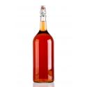 Csatos 2 literes üveg palack