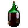 Demizson 5l csapos üveg palack
