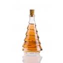 Fenyő ovál 2 dl üveg palack