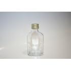 F100 0,1 literes lapos üveg palack