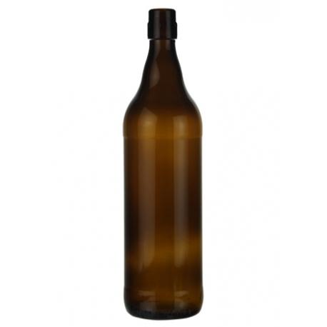 Steini Barna Sörös üveg palack 1 literes csatos